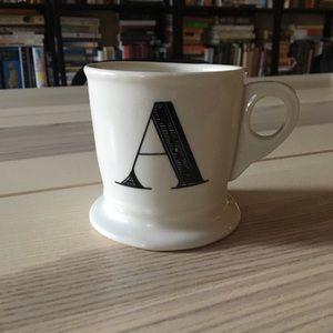 Monogram Mug, A